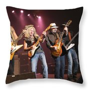 Skynyrd-group-7642 Throw Pillow