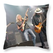 Skynyrd-group-7670 Throw Pillow
