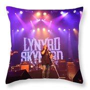 Skynyrd-group-7820 Throw Pillow