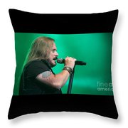 Skynyrd-johnny-7494 Throw Pillow