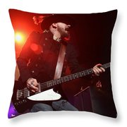 Skynyrd-johnnycult-7902 Throw Pillow