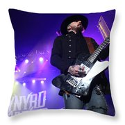 Skynyrd-johnnycult-7915 Throw Pillow