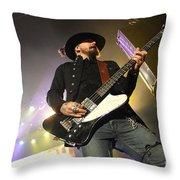 Skynyrd-johnnycult-7950 Throw Pillow