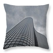 Skyrise Chicago Throw Pillow