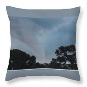 Skyscape - Full Blown Tornado Throw Pillow