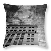 Skyscraper 5b Throw Pillow