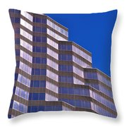 Skyscraper Photography - Downtown - By Sharon Cummings Throw Pillow