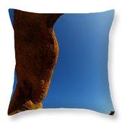 Skyward Throw Pillow by Bob Christopher