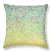 Skywatching In A Painting Throw Pillow