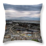Skyway Early Spring 2014 Throw Pillow