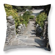Slate Steps Throw Pillow