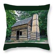 Slave Cabin Throw Pillow