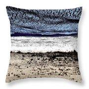 Sleeping Bear Beach Throw Pillow