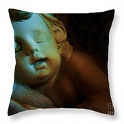 Sleeping Cherub #1 Throw Pillow