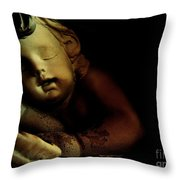 Sleeping Cherub #2 Throw Pillow