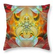 Sleeping Genie Throw Pillow