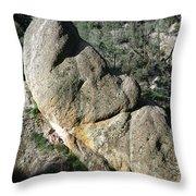 1b6434-sleeping Giant Rock Throw Pillow