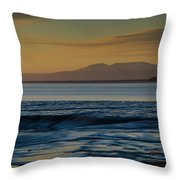 Sleeping Lady Throw Pillow
