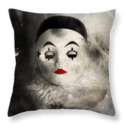Sleeping Night  Throw Pillow