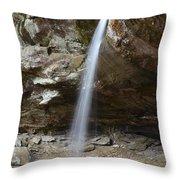 Slender Beauty Throw Pillow