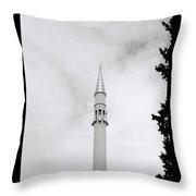 Slender Minaret Throw Pillow