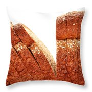 Sliced Bread Throw Pillow