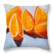 Sliced Throw Pillow