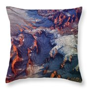 Slickrock Amphitheaters Throw Pillow