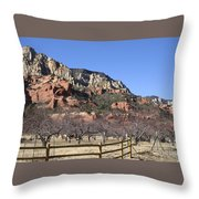 Slide Rock Throw Pillow