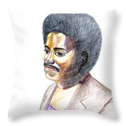 Slim Ali Throw Pillow