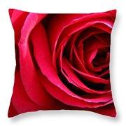 Slimline Red Throw Pillow