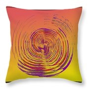 Slip In Time Throw Pillow