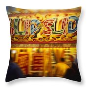 Slip N Slide Throw Pillow