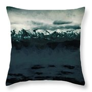 Slippery Surface Throw Pillow