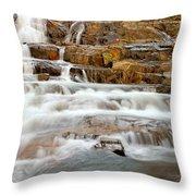 Slippery When Wet Throw Pillow