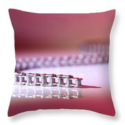 Slithering Chain Throw Pillow