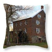 Sloan Park Grist Mill Throw Pillow