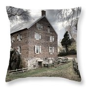 Sloan Park Walkway To The Past Throw Pillow