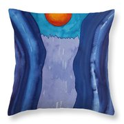 Slot Retablo Original Painting Throw Pillow