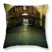 Slouching Towards Bethlehem Throw Pillow
