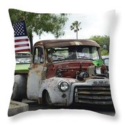 Slow And Low Throw Pillow