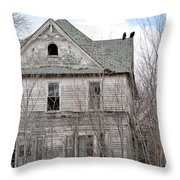 Slow Death Throw Pillow