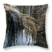 Slow Flow Throw Pillow
