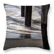 Slow M'ocean Throw Pillow