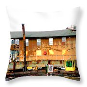Slow Speed Throw Pillow