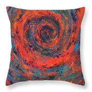 Slow Temporal Repeat Throw Pillow