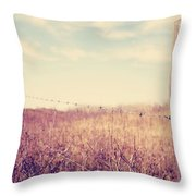 Slow The Day Down Throw Pillow