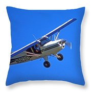 Slow Turn Throw Pillow