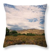 Slowly I Tread Throw Pillow