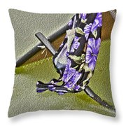 Slowly Sinking In Ice Throw Pillow